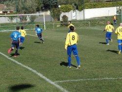 la réserve contre Moussan le 26 Fevrier 2017 - FC Villedubert