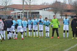 Match U14/15 - Montastruc / Castelmaurou - Le 03/12/17 - Football Club Montastruc