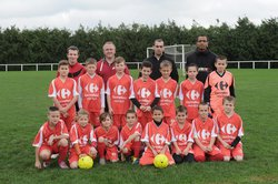 Equipe U11 2016 - Football Club Pays Bellêmois