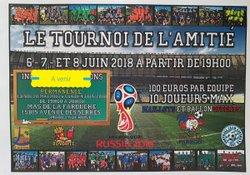 RDV  JUIN 2018 : TOURNOI DE L'AMITIÉ ET 1er TOURNOI MANU BELMONTE