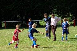 Quelques photos des U11 lors du 2ème tour de la Coupe de la Dordogne : qualifiés pour la finale - Ecole de foot FOOTHISLECOLE