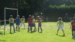 Match U11 contre HAUTEFORT B. Victoire 6 à 0 Lors de la journée d'accueil - Ecole de foot FOOTHISLECOLE