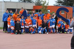 Entrainement au MHSC U10-U11 - Football Olympique Sud Hérault