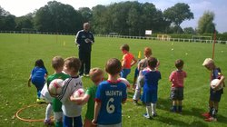 1er entraînement U6 - FONTENAY LE PESNEL FOOTBALL CLUB