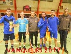 Tournoi de foot en salle du Samedi 4 Février 2017 de 19h à 1h du matin (salle des sports d'Envermeu) - Association Foot en salle Lensois d'Envermeu