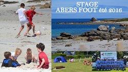 "Stage""ABERS Foot été 2016 - Gars Saint Yves Bourg-Blanc"