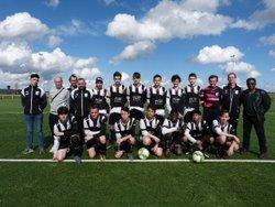 Deuxième place en poule prestige pour nos U17 - GATINAIS VAL DE LOING FC