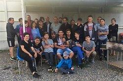 Repas fin de saison des U15 - Groupement Formateur Limagne - LABEL FFF