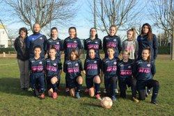 U15 FEMININES. THIERS.SA 13-01-2017 - Groupement Formateur Limagne - LABEL FFF