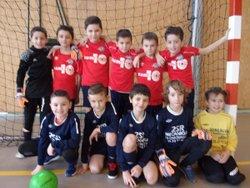 interclub  salle U9 gerzat  du 28/01/2018 - Groupement Formateur Limagne - LABEL FFF