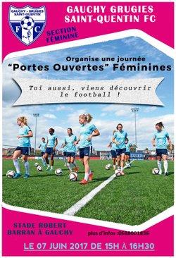 PORTES OUVERTES FOOT FEMININ