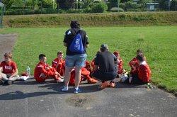 Tournoi St Berthevin U11: 1er match de poule EJA U10 - BOURGUEBUS SOLIERS FC - Entente Jeunes Antonniere