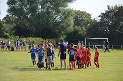 Tournoi de Ballon U11 :Match de poule EJA U10 - BALLON 1 ( 0 - 0 ) - Entente Jeunes Antonniere