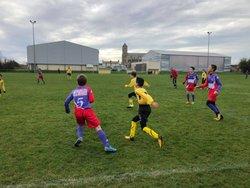 U13 C Challenge Vendee  Victoire les sables 2-1 nul St Julien 1-1 victoire Talmont 2-1 2eme jonglerie - GJ OLONNE-CHATEAU