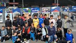 U13 au Stade de France (cliquez ici) - Groupement de Jeunes de la Côte Léonarde
