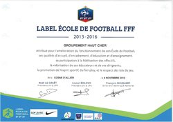 LABEL FFF ECOLE DE FOOT