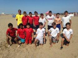 NOS U13 FINALISTES DU GRUISSAN BEACH SOCCER !