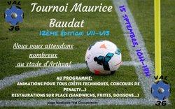 Photos Tournoi Maurice Baudat 12ème édition U11 U13 le 15/09/2018 - GROUPEMENT VAL36