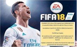 Tournoi FIFA 18 -  3 mars 2018