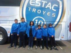 Visite du Centre de Formation ESTAC (Troyes) - JEUNESSE D'ANTONY FOOTBALL