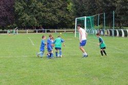 U9 à l'entraînement - Jeunes Footballeurs du Cagire