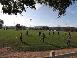 Entrainements communs de laJstel  à Toulon : les U7 et les U9 coachés par Kevin LACROIX et Thomas SIMONIN - Jeunesse Sportive Toulon-Etang-Luzy