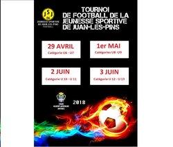 42ème tournoi de la Jeunesse Sportive de Juan les Pins