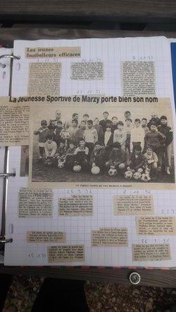 Le journal de Stéphane les années 1990/2OOO (extraits) - JS MARZY