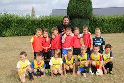 Les U9 à l'entraînement - Jeunesse Sportive Tinchebray