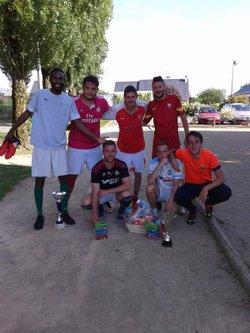 Les gagnants du tournoi de football a la chapelle du bois BRAVO A EUX - Sport et Loisirs La Chapelle Du Bois