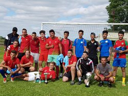 l'équipe d'alençon victorieuse du tournoi - Sport et Loisirs La Chapelle Du Bois