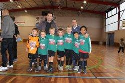 Les U8 au tournoi de Voiron le 03 janvier 2015 - Union sportive La Murette