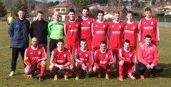 16éme de finale contre St Vincent en coupe Régis Fay - US Lantriac
