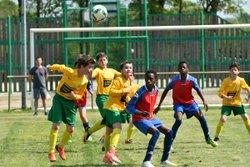 Les U13 2 contre LA CHEVALLERAIS ES  : 2-1 pour LA CHEVALLERAIS ES - LA SAINT PIERRE DE NANTES