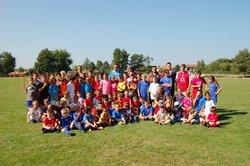 Ecole de foot, entraînements du 10/09/2014 - Les aiglons razacois