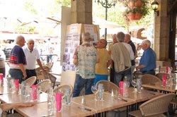 Repas des anciens joueurs de Limoux organisé par Jean-Louis Maigron - Limoux Pieusse Football Club