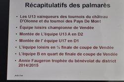 AG du 20 juin 2015 - MARSOUINS BRETIGNOLLAIS FOOTBALL