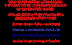 Retrait dossier d'inscription et signature : permanences - MONTREUIL-JUIGNÉ BÉNÉ FOOTBALL