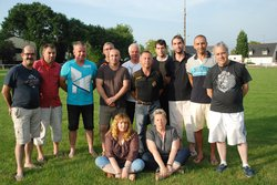 Le bureau des montagnards accompagné du coach - MONTAGNARDS DE SULNIAC