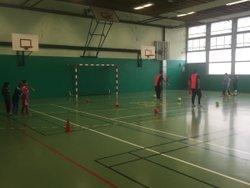 Seance u10-u11F atelier passe contrôle #  surfaces de pied !! - Associazione Club Montreuil Futsal         ACM MONTREUIL FUTSAL