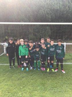 L équipe U11B/C , ont fini le tournoi d isneauville 3 eme félicitations au joueurs Alain - Mont Saint Aignan Football Club