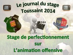 Le journal de la Toussaint 2014: 4ème journée