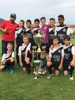 Les tournois du week end en photos dont le triomphe des U13 à Saint Max - Nouvelle Génération Touloise