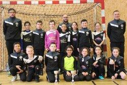 Nos 2 équipes U11 en finale Futsal à Gondreville - Nouvelle Génération Touloise