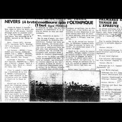 COUPURES DE JOURNAUX - OLYMPIQUE DE CAYENNE