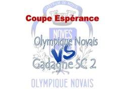 Composition match dimanche 16 septembre : Coupe espérance