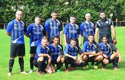 L'Equipe Senior aux Vignères lors de la coupe Rhône Durance. - RACING CLUB BLONDEL BOLLENE