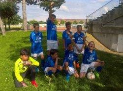 Les U11 3eme du Tournoi excellence de St Charles La Vigilante au Stade de l'Étivallière à St-Etienne - ROANNE MATEL SPORT FC