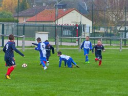 PLATEAU U11B ROMILLY SUR ANDELLE LE 18/11/2017 - ROMILLY-PT ST PIERRE-FOOTBALL CLUB