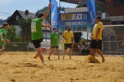 Baltus Beach soccer Kids à La Roche-en-Ardenne en partenariat avec la RUS GOUVY